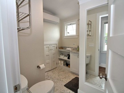 Provincetown Cape Cod vacation rental - 2nd floor full bathroom with washer/dyer