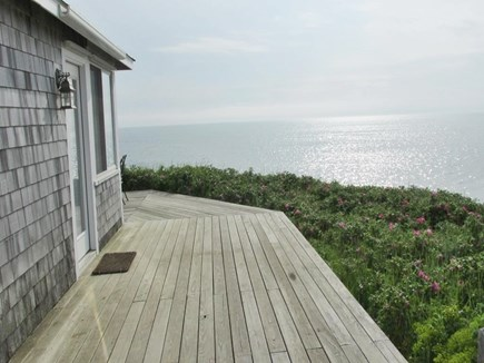 Eastham Cape Cod vacation rental - Deck with amazing Bay views