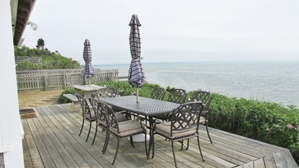 Eastham Cape Cod vacation rental - Deck and View