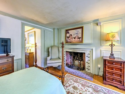 Barnstable Village Cape Cod vacation rental - First Level bedroom with 2 twins and TV