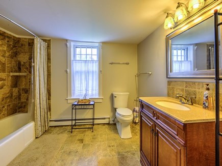 Barnstable Village Cape Cod vacation rental - Main Full Bath with Tub and Shower