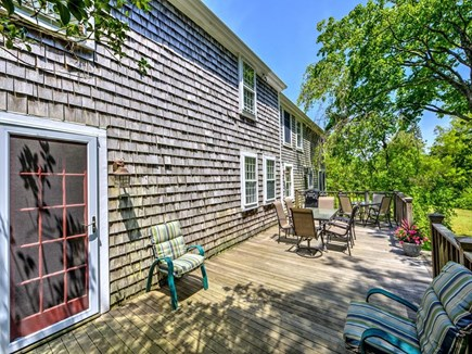Barnstable Village Cape Cod vacation rental - HUGE sundeck for outdoor grilling and dining