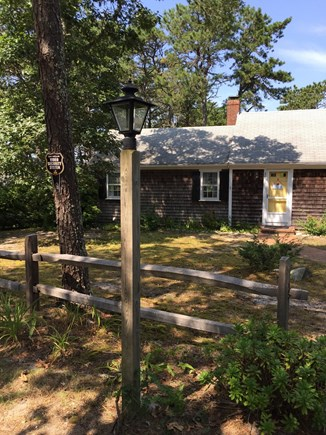 South Chatham Cape Cod vacation rental - Street view of house
