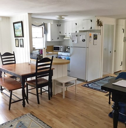 South Chatham Cape Cod vacation rental - Kitchen eating area