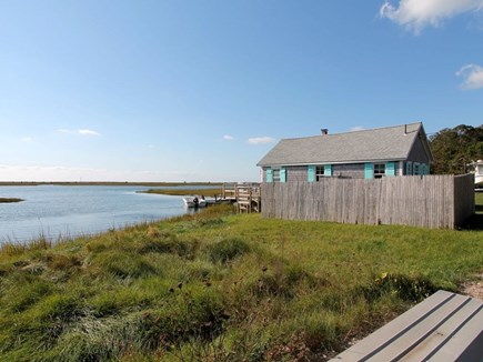 Chatham Cape Cod vacation rental - Tidal river in front of house; swim & kayak at high tide