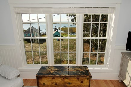 Chatham Cape Cod vacation rental - Stunning views of tidal river and Nantucket Sound from Master BR