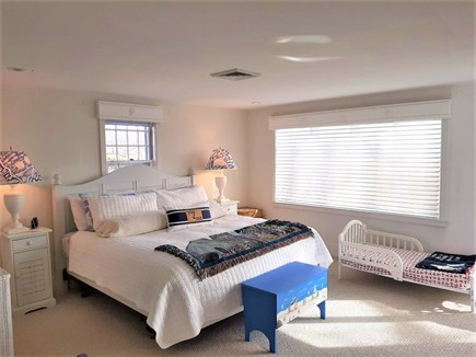 Hyannis Cape Cod vacation rental - Master bedroom with King Size bed and water-views!!