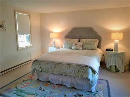 Hyannis Cape Cod vacation rental - Second bedroom with queen size bed and private bath /tub & shower