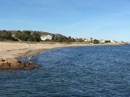 Hyannis Cape Cod vacation rental - Hyannisport Harbor out to Nantucket Sound