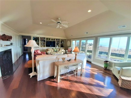 Hyannis Cape Cod vacation rental - Gorgeous great room with walls of glass