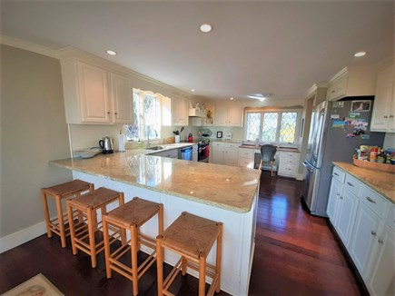 Hyannis Cape Cod vacation rental - Breakfast Bar in newly remodeled kitchen