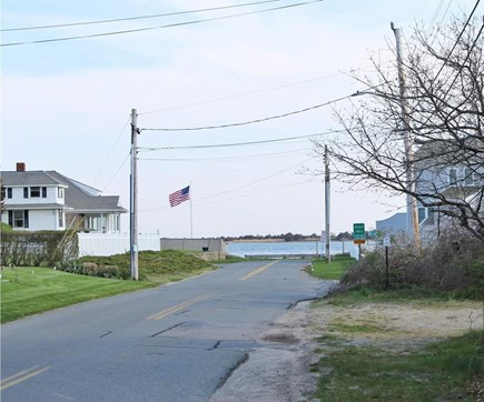 Yarmouth, Lewis Bay Cape Cod vacation rental - View towards the water from the end of the street