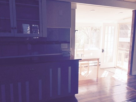 Falmouth Cape Cod vacation rental - Kitchen looking into dinning area
