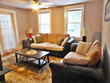 Falmouth Cape Cod vacation rental - Living room with TV and internet