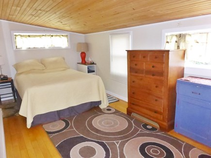 Falmouth Cape Cod vacation rental - Master bedroom separate from other 2 bedrooms that are upstairs