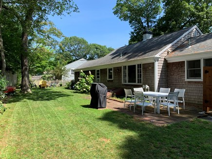 South Yarmouth Cape Cod vacation rental - Private back yard for your enjoyment