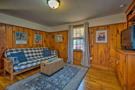 South Yarmouth Cape Cod vacation rental - Spacious den with full size futon to use as bedroom or game room