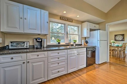 South Yarmouth Cape Cod vacation rental - Fully equipped kitchen for all your needs