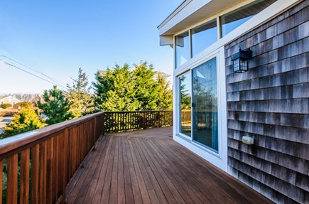 East Sandwich Cape Cod vacation rental - Great deck space