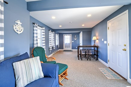 Sandwich Cape Cod vacation rental - Separate game table in the Den.