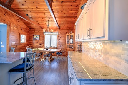 Sandwich Cape Cod vacation rental - Separate Dining area in Kitchen.