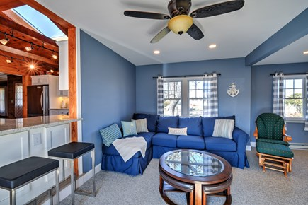 Sandwich Cape Cod vacation rental - Den off the Kitchen, with small bar top counter.