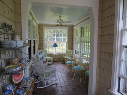 East Dennis Cape Cod vacation rental - Front porch