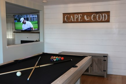 Dennis Cape Cod vacation rental - Pool table