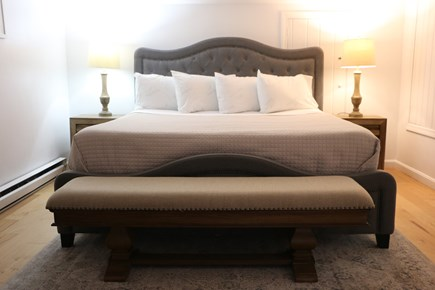 Dennis Cape Cod vacation rental - Master Bed.  Cal King Bed