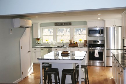 Dennis Cape Cod vacation rental - Large eat-in kitchen.