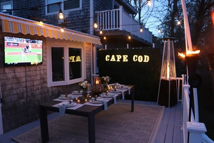Dennis Cape Cod vacation rental - Great deck for relaxing
