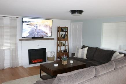 Dennis Cape Cod vacation rental - Living room 2.  Youtube TV, Netflix, Prime