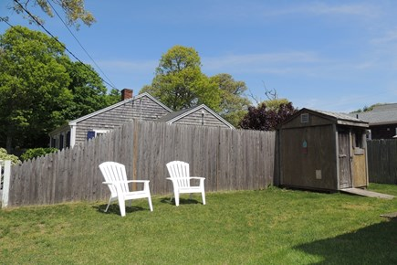 Harwich, Campground Cape Cod vacation rental - Back yard