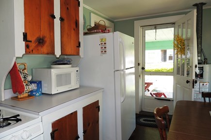 Harwich, Campground Cape Cod vacation rental - Side door to porch