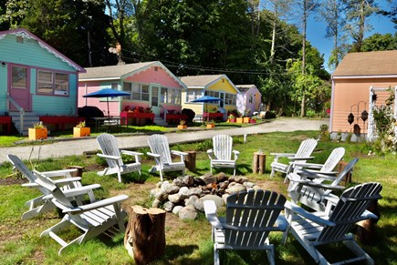 Plymouth, Manomet MA vacation rental - Share your day with friends and family at the fire pit.