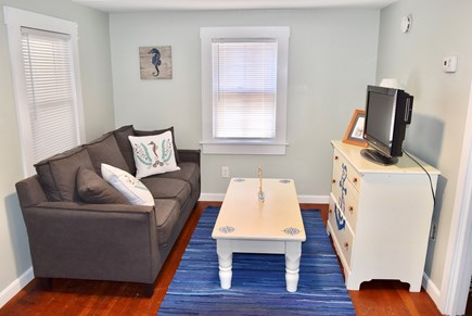 Plymouth, Manomet MA vacation rental - Living room with a sleeper couch