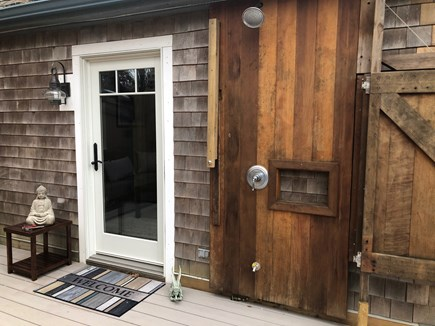 Eastham Cape Cod vacation rental - Outside shower, choose enclosed or open as shown.