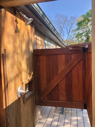 Eastham Cape Cod vacation rental - Plenty of room and privacy in your outdoor shower.