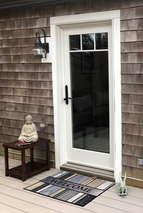 Eastham Cape Cod vacation rental - Private entranceway to your beautiful studio apartment
