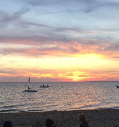 Eastham Cape Cod vacation rental - Nightly sunsets at South Sunken