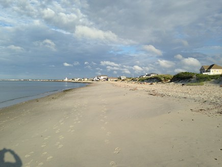 West Dennis Cape Cod vacation rental - Beautiful private beach on Nantucket Sound is steps away
