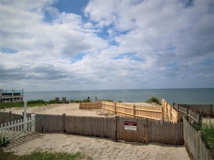 West Dennis Cape Cod vacation rental - Walkway to the beach
