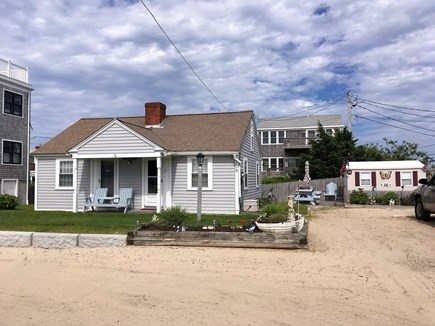 West Dennis Cape Cod vacation rental - Front of Cape Coddage from the playground