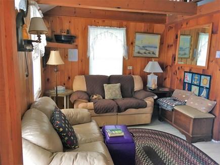 West Dennis Cape Cod vacation rental - Comfortable living area