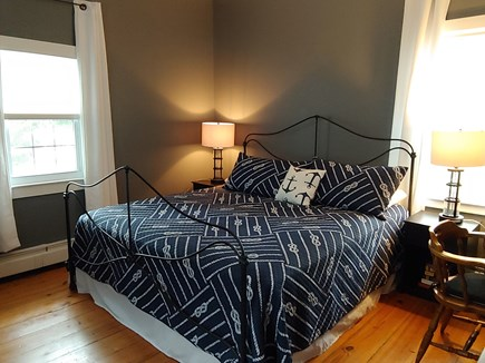 West Harwich Cape Cod vacation rental - First floor Captains Quarters. King bedroom