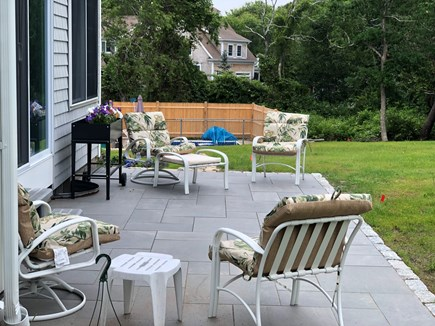 Bayside in East Dennis Cape Cod vacation rental - Back patio