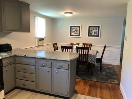 Bayside in East Dennis Cape Cod vacation rental - Kitchen, dining room