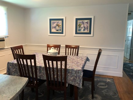 Bayside in East Dennis Cape Cod vacation rental - Dning area
