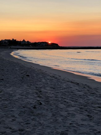 Bayside in East Dennis Cape Cod vacation rental - Sunset  at Sea Street Beach which is little over half mile walk.