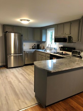 Bayside in East Dennis Cape Cod vacation rental - Remodeled kitchen with granite countertop